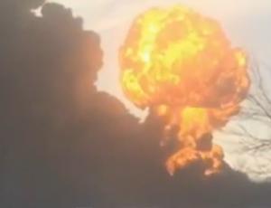 esplosione treno nord dakota