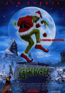 La locandina del film 'Il Grinch'