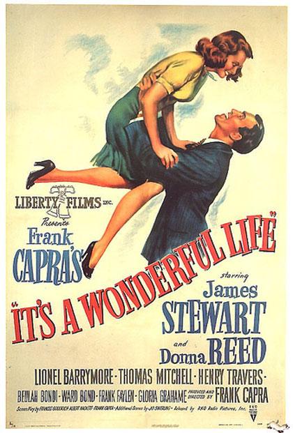 Il poster originale del film 'La vita è meravigliosa'