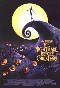 La locandina del film 'Nightmare Before Christmas'