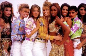 moda anni novanta versace