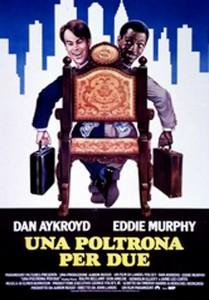 La locandina del film 'Una poltrona per due'