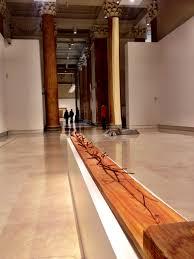 Una delle opere all'interno della mostra