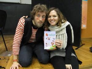 L'illustratore Emiliano Bruzzone e la scrittrice Irene Messina