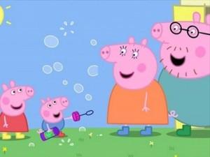 Peppa Pig, il celebre cartone animato inglese