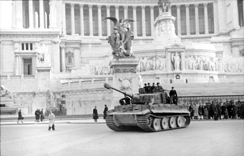 Roma occupata dai nazisti