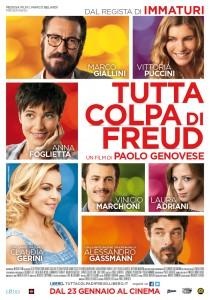 """La locandina del film """"Tutta Colpa di Freud"""" (comingsoon.it)"""
