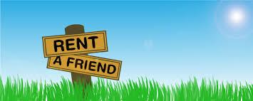 affittare un amico