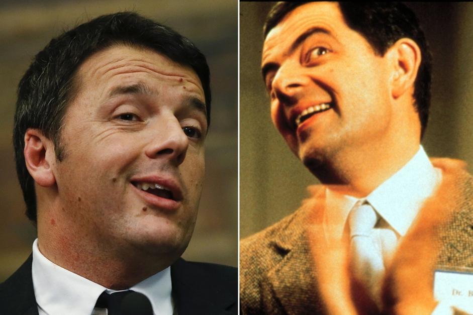 Renzi Mr Bean