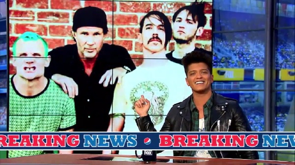 Bruno Mars e i Red Hot Chili Peppers saranno i protagonisti dell'halftime show (idolator.com)