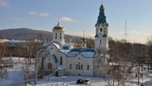 La cattedrale della Resurrezione a Yuzhno (Sakhalin) (ria.ru)