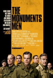Il poster di 'The Monuments Men'