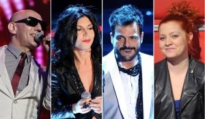 Sanremo 2014, seconda puntata: alcuni Big in gara. Fonte foto: vanityfair.it
