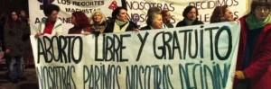 protesta pro-aborto spagna