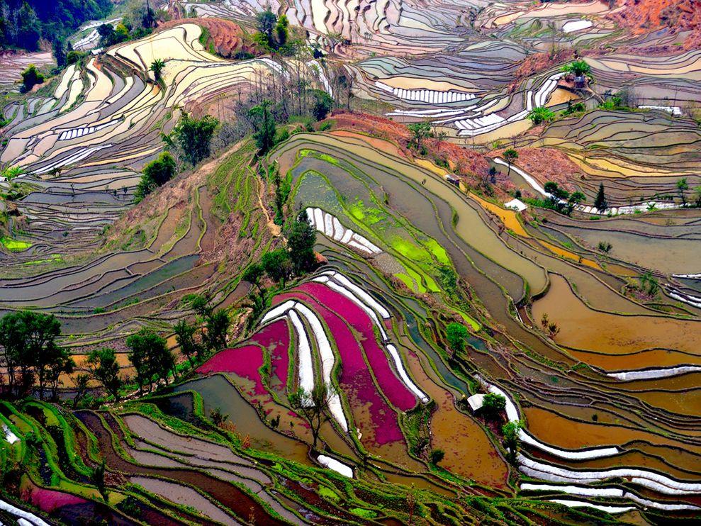 I 20 paesaggi colorati più belli del mondo dove la natura si tinge di arcobaleno   (9)