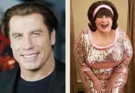 """La trasformazione di John Travolta per """"Hairspray""""(afamily1.vn)"""