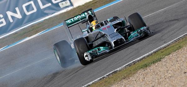 Mercedes e Hamilton, i veri favoriti del 2014 (foto: photo4)