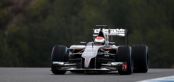 La Sauber continua a non essere all'altezza delle Big (foto: photo4)