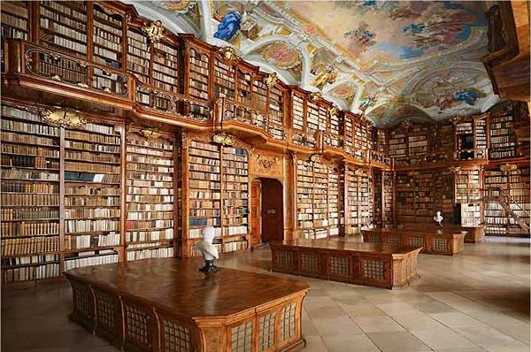 Le biblioteche pi belle e affascinanti del mondo for Foto meravigliose del mondo
