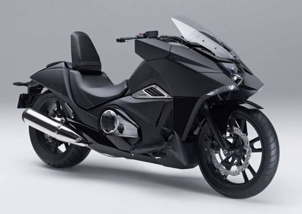 la honda lancia la moto del futuro che sembra quella di batman. Black Bedroom Furniture Sets. Home Design Ideas