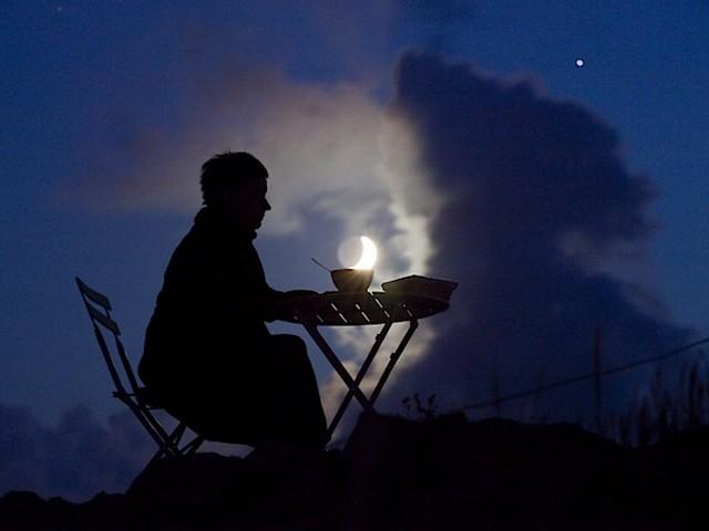 Luna a colazione
