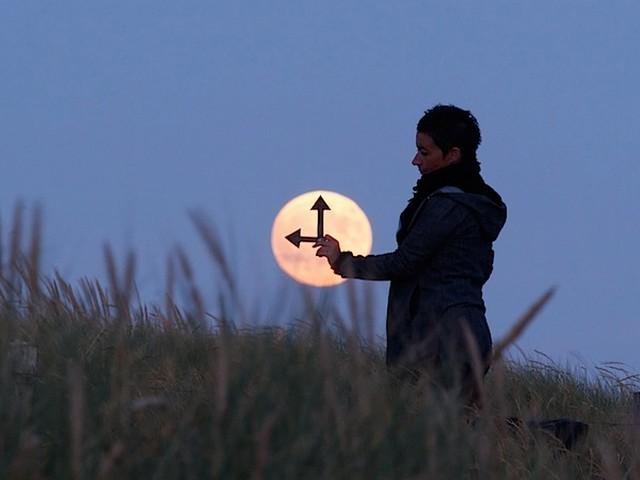 La Luna come orologio