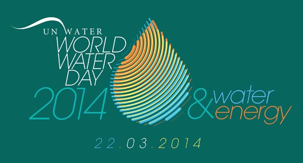 Il logo della Giornata Mondiale dell'Acqua 2014