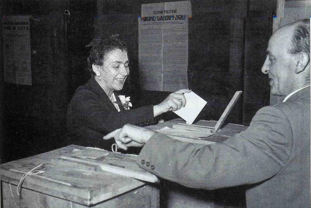 primo voto donne italia emancipazione femminile