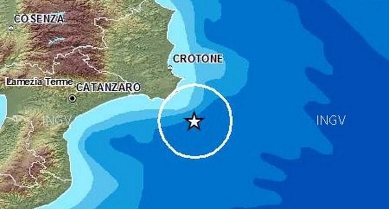 Una forte scossa di terremoto ha interessato la Calabria e la Puglia