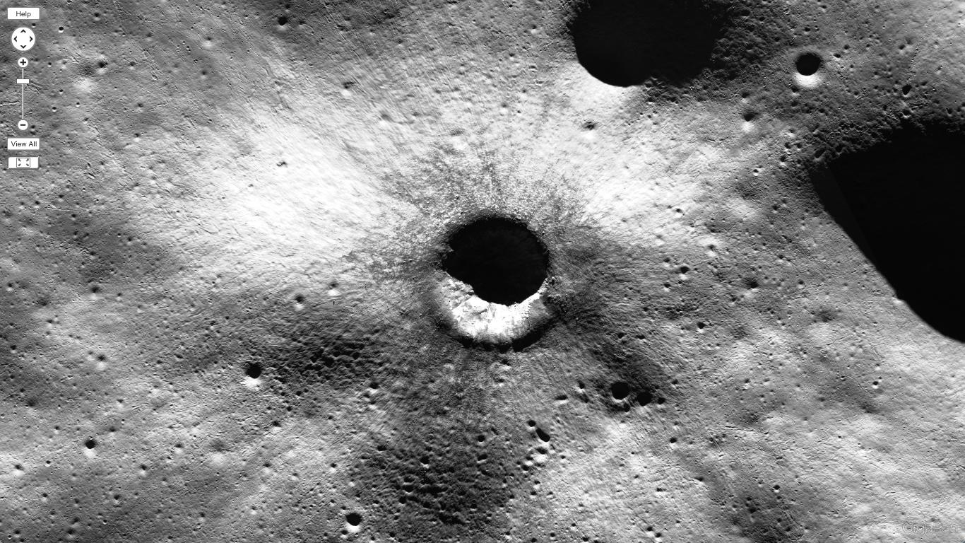 mappa lunare nasa