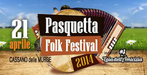 Pasquetta folk festival