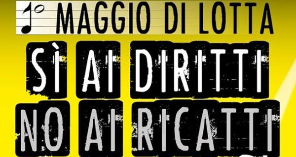 Lo slogan del contro concerto di Taranto