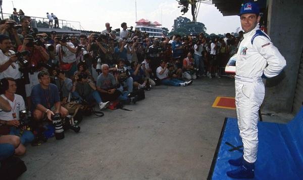 Ratzenberger è morto il giorno prima di Senna (foto: grandprix247.com)