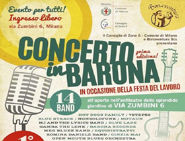primo maggio concerto in barona - comune milano it