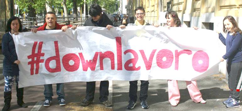 #downlavoro