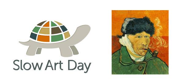 Il logo dello Slow Art Day