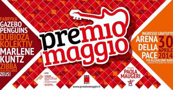 Bari aspetta il 1° maggio con il concertone del Premio Maggio