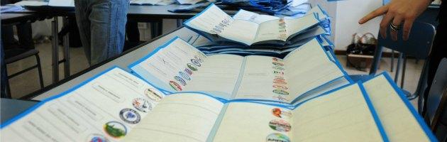 scheda voto europee