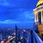 Skybar at night - bangkok.com