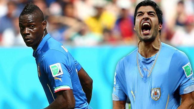 Suarez, Balotelli