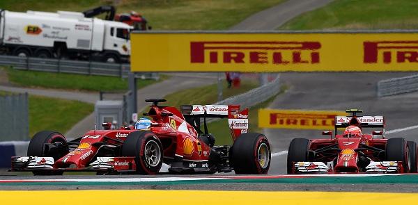 Ennesima gara deludente  per la Ferrari che chiude in 4° e 10° posizione (foto: ferrari.com)