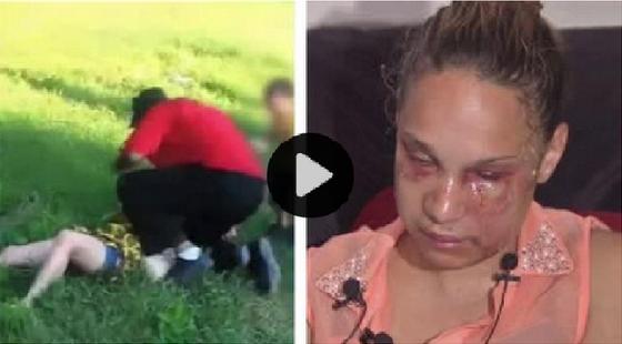 Giovane madre picchiata davanti al figlio di due anni