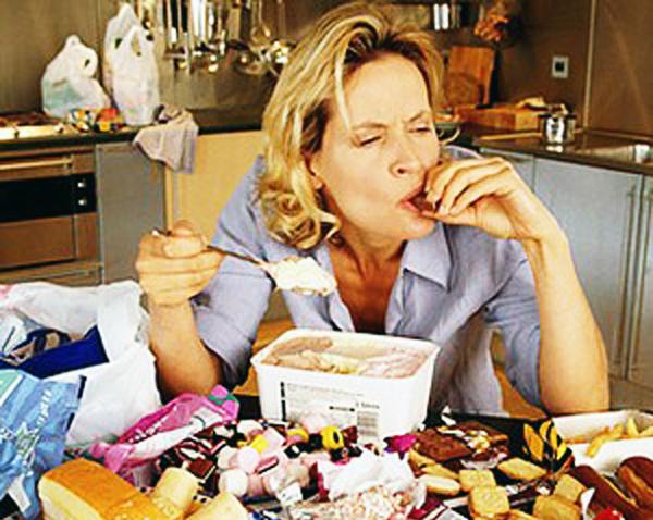 La fame nervosa è spesso sintomo di una cattiva educazione alimentare
