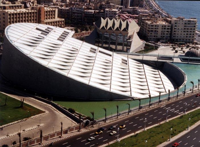 21-33-Worlds-Top-Strangest-Buildings-Bibliotheca-Alexandrina