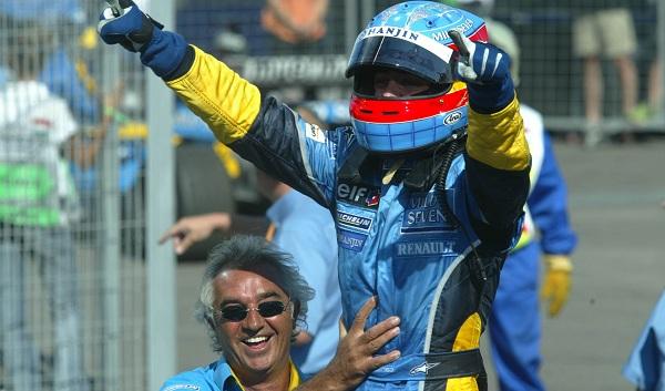 Alonso ha vinto in Ungheria nel 2003: per lo spagnolo era la prima vittoria in Formula 1 (foto: f1fanatic.co.uk)