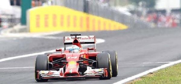 Fernando Alonso è tornato sul podio con la Ferrari a Budapest