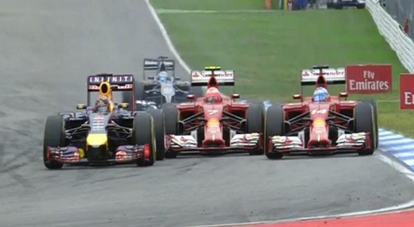La Ferrari ha nuovamente deluso le aspettative. Alonso è 5°, Raikkonen è fuori dalla zona punti