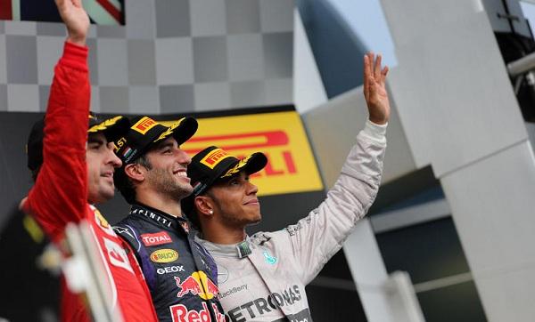 Ricciardo è l'unico pilota ad aver infranto la supremazia Mercedes (foto:  Photo4)