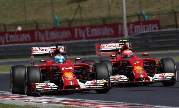 A Budapest hanno tornato a brillare le Ferrari: Alonso è finito sul podio; Raikkonen in zona punti (foto:  Photo4)