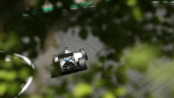 A differenza di sette giorni fa, le Williams non si sono dimostrate all'altezza della pista (foto:  Photo4)